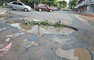 Continúa investigación contra intendente de San Lorenzo por supuesta sobrefacturación en obras de bacheo
