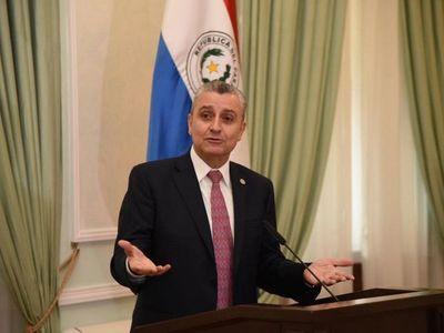 Villamayor muetra documentos sobre negociación con Guaidó y ratifica que no hubo acuerdo