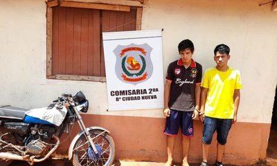 Caen detenidos dos motochorros tras asalto en barrio Ciudad Nueva – Diario TNPRESS
