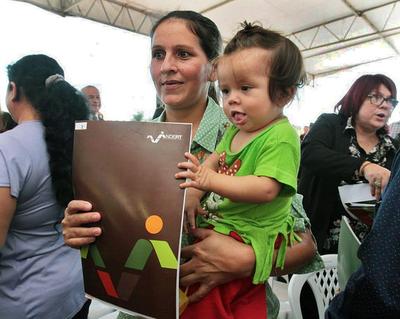Indert anuncia entrega de títulos a más de 500 nuevos beneficiarios