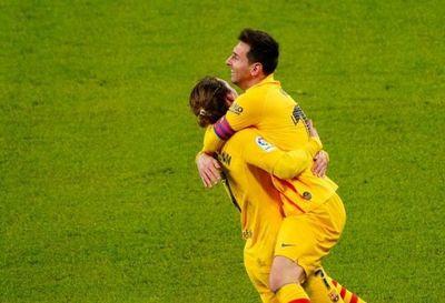 Messi brilla en triunfo del Barcelona por Liga ante Athletic para trepar al tercer lugar