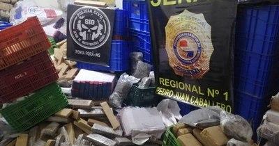 La Nación / Policía brasileña y Senad incautan 660 kilos de marihuana