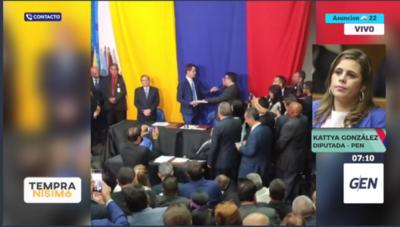 HOY / Diputada  Kattya González, sobre el caso del arreglo con PDVSA