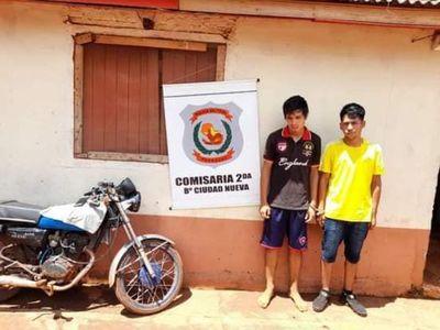 Detenidos tras cometer asalto callejero