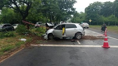 Accidente fatal en Luque