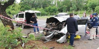 Crónica / Mujer falleció en zona de Ñu Guasú, amalicia iba a alta velocidad