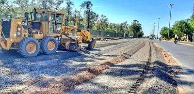 Corredor Vial Botánico: establecen desvíos por excavación en Juana Pabla Carrillo y 8 de Junio
