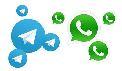 Telegram y WhatsApp: diferencias, virtudes y fallas de cada App