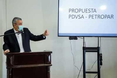 Ministro presentó documentos de las tratativas con Venezuela sobre deuda con Pdvsa