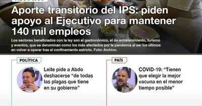 La Nación / LN PM: Las noticias más relevantes de la siesta del 7 de enero