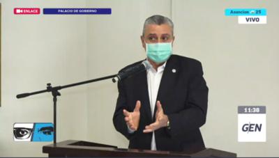 HOY / Conferencia de prensa del jefe de Gabinete de la Presidencia, Juan Ernesto Villamayor