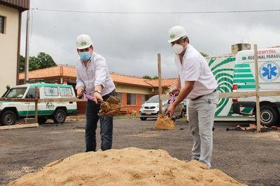 Se inicia la construcción del laboratorio en Hospital Regional de Paraguarí