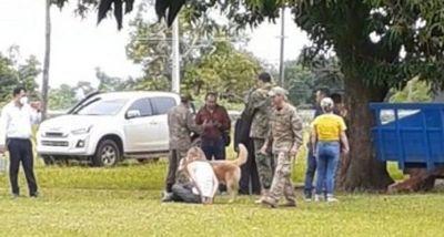 Denuncian violento desalojo y privación ilegítima de libertad en Puentesiño
