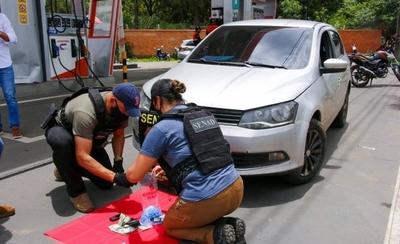 HOY / Hacía delivery de cocaína y fue detenido en la vía pública en San Bernardino