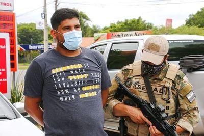 Detienen a hombre que hacía delivery de droga en San Bernardino