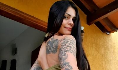 Gloria Jara, abrazada con otro, satirizó los rumores sobre Walter Fretes