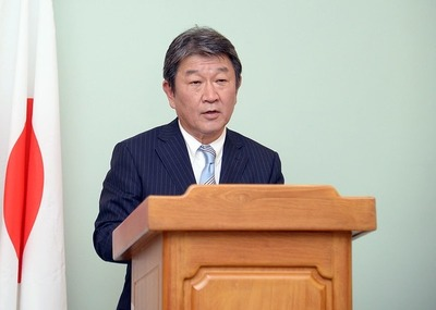 El Canciller del Japón se reúne hoy con el presidente Mario Abdo en el Palacio de López