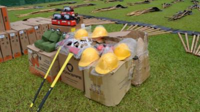 Mades entrega insumos de prevención y combate contra incendios