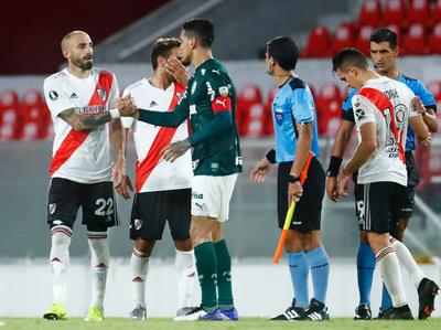 Gustavo Gómez, en el equipo de la semana de la Libertadores