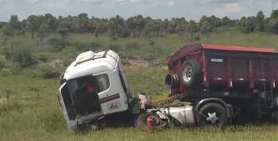 Ñeembucú: Fatal accidente sobre la Ruta PY04