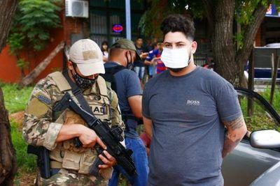 "Capturan a ""Kurepa"", distribuidor de cocaína en Capiatá"