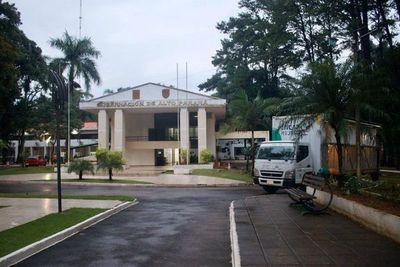 Hacienda transfirió G. 114.155 millones a Gobernación de Alto Paraná en 2020