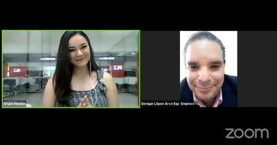 """La Nación / """"El 2021 va ser mejor"""" dijo el director de Empleo de la ANR, Enrique López Arca en Live LN"""