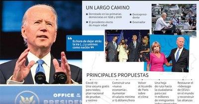 La Nación / Congreso de EEUU validó el triunfo electoral de Joe Biden