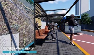 MOPC y Municipalidad de Asunción acuerdan avanzar con la implementación del Sitibus