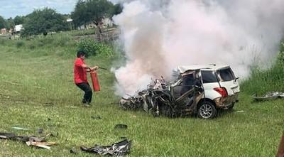 Militar mata a su pareja y en su huida fallece en un accidente de tránsito