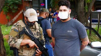 Capturan a distribuidor de cocaína en Capiatá: tenía casi 100 moñitos listos para la venta