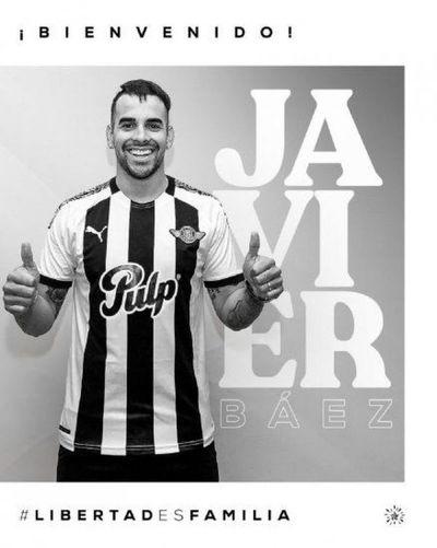 Cristian Javier Báez es nuevo refuerzo de Libertad