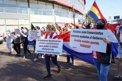 Encarnación: Comerciantes piden al Congreso aprobar subsidio económico