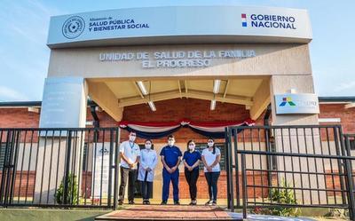 Gobierno inaugura nuevas USF en Central y completa 16 construidas por Itaipu