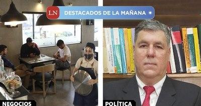 La Nación / Destacados de la mañana del 8 de enero