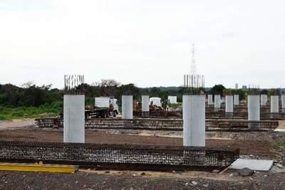 Puente Héroes del Chaco: alistan planta para fabricación de 590 vigas pretensadas