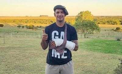 Diego Polenta envía mensaje tranquilizador tras fractura