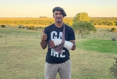 """Diego Polenta tras el accidente: """"En unas semanas quedo pronto"""""""