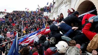 Ya son cinco los muertos en el Capitolio de Estados Unidos