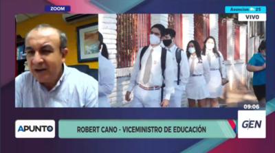 """HOY / Robert Cano, viceministro de Educación: """"Las clases presenciales van a ser voluntarias"""""""