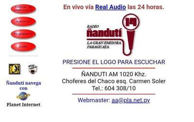 Nanduti.com.py cumple 23 años: La primera radio en Paraguay en transmitir por Internet
