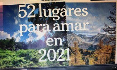 Asunción: Entre los 52 lugares para amar en 2021, según el NYT