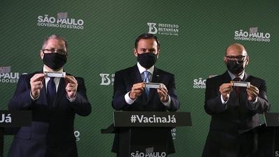 La vacuna china desarrollada en Brasil tiene 78% de eficacia