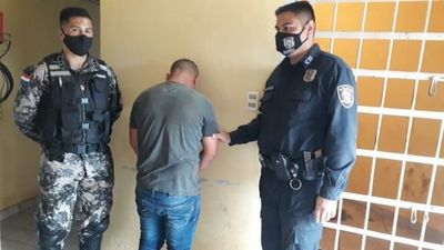 Agentes del grupo Lince atrapan a joven armado que mantenía en zozobra a pobladores de Juan León Mallorquín
