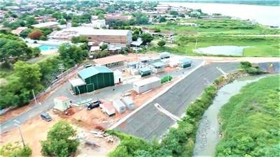 En marzo iniciarán las pruebas en la planta de tratamiento de aguas residuales de Asunción