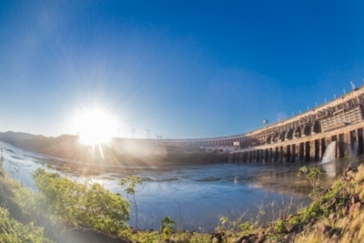 Durante el año 2020, Itaipu suministró 15.861 GWH de energía eléctrica al Paraguay
