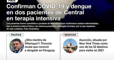 La Nación / LN PM: Las noticias más relevantes de la siesta del 8 de enero