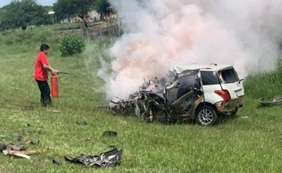 Investigan si choque fatal fue accidente o suicidio