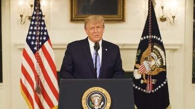 Trump anuncia que no participará en toma de posesión de Biden