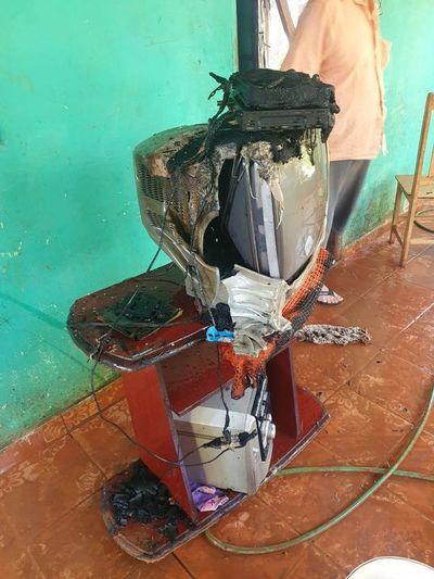 Cortocircuito provoca principio de incendio